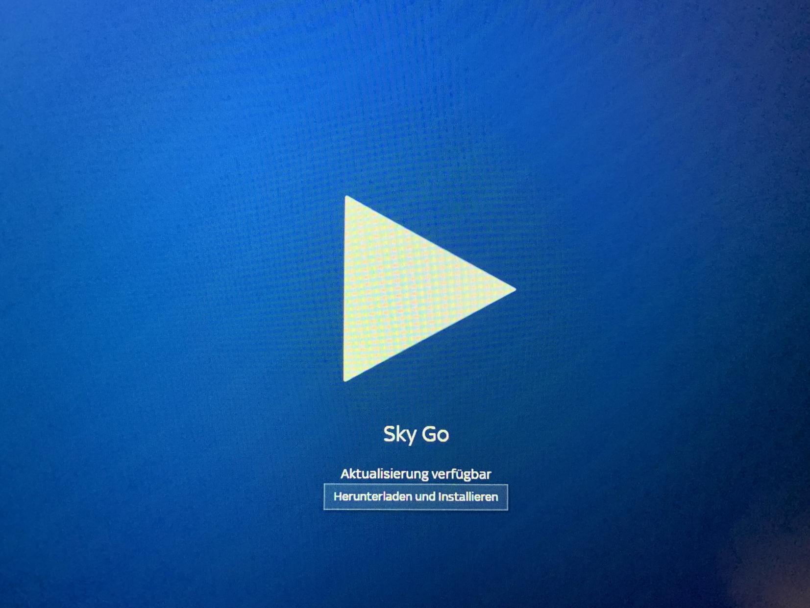 sky go windows 10 funktioniert nicht