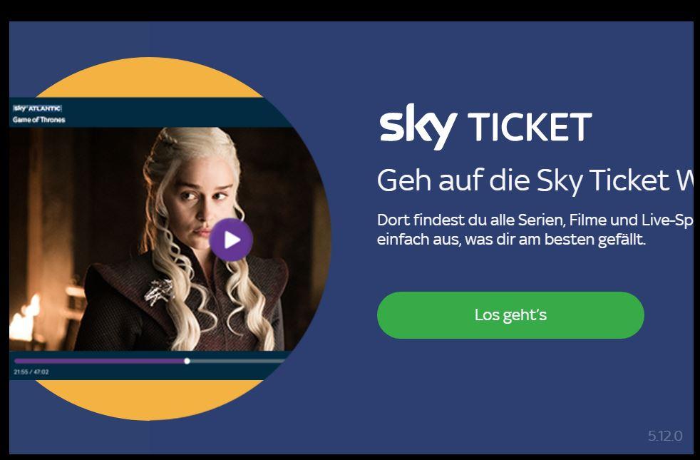 Probleme Mit Sky Ticket