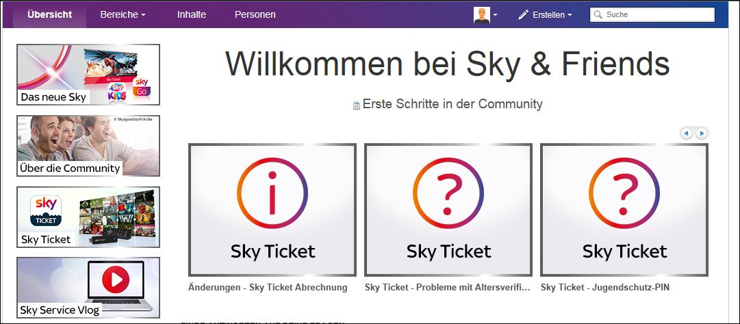 Sky Ticket Login Funktioniert Nicht