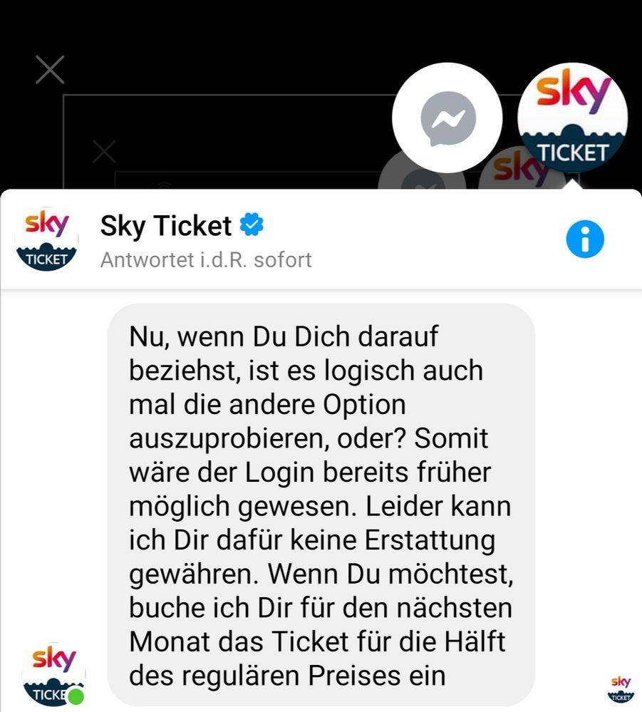 Sky Account Gesperrt