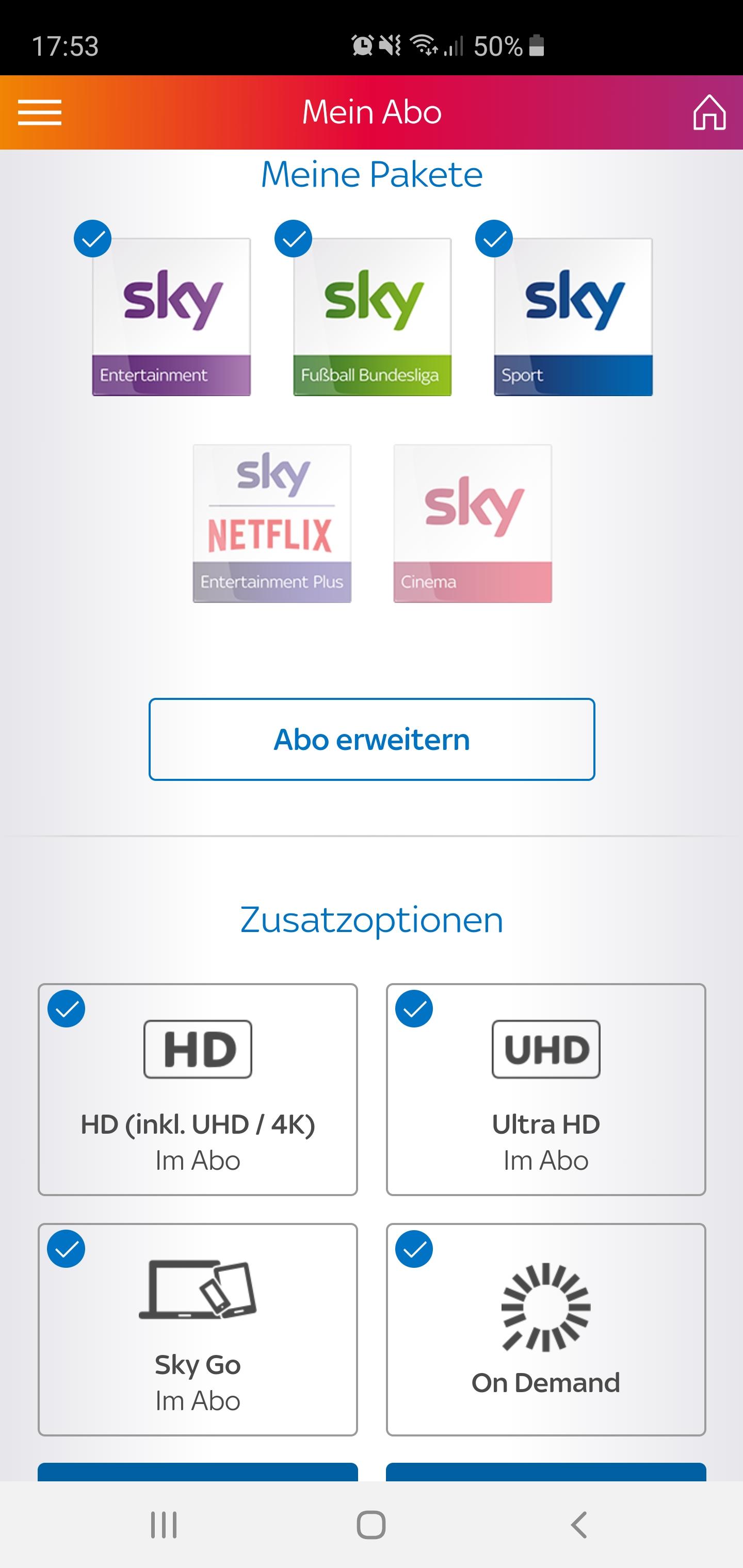 Sky Go App Funktioniert Nicht