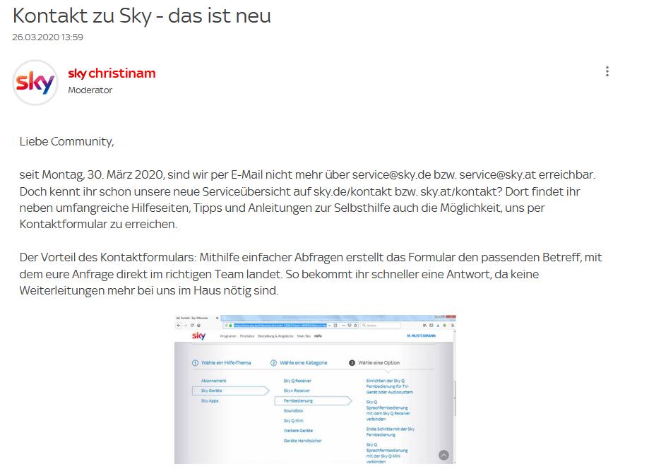 Service@Sky.De